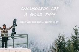 Burton Snowboards – Built on Boards