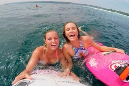Hot Babes Go To Bali to Surf