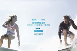 VR Party Wave with Stephanie Gilmore & Dave Rastovich