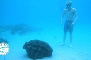 John John Florence & Kelly Slater Celebrate the Arrival of Giant Clams in Fiji