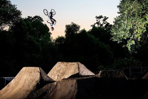 An Evening Dirt Session at Woodward West