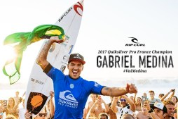 Gabriel Medina Wins in France