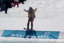 2018 Pond Skim Mammoth Mountain