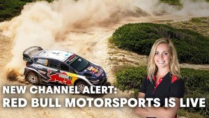 Red Bull Launches New Motorsports Channel