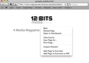 Adobe Wallaby Screenshot