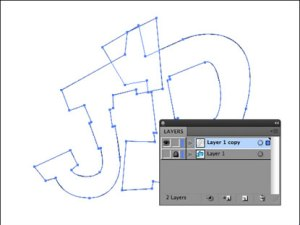 Paths Layer Illustrator CS5