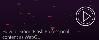 WebGL en Flash CC