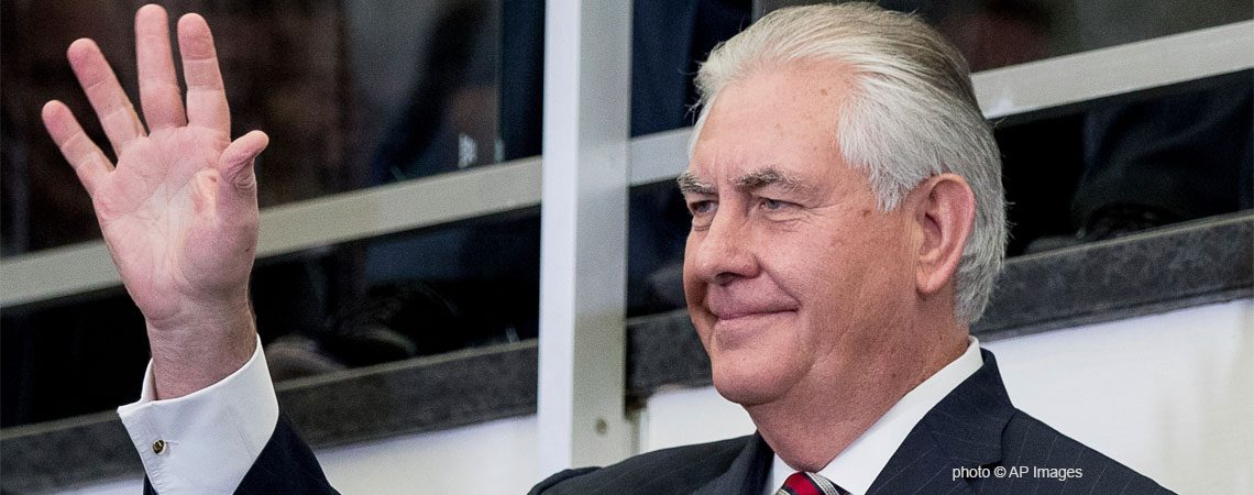 Secretario de Estado, Rex Tillerson / AP