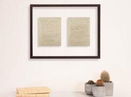 Offre privilégiée : Tableau manuscrit : L'appel du 18 juin 1940