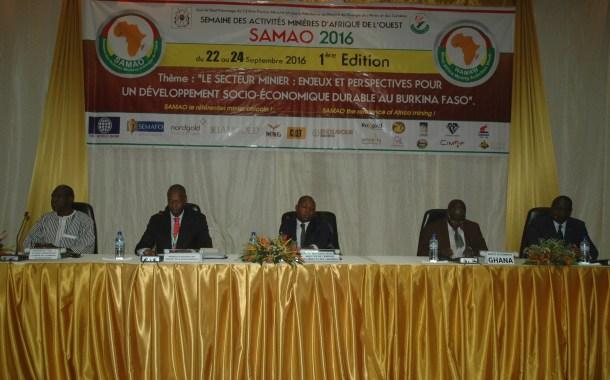 SAMAO : pour ouvrir le marché minier burkinabè au reste du monde