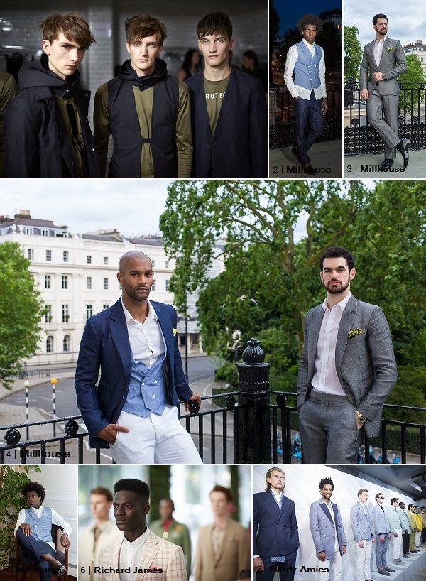 Millhouse TAILORING LCM2014 SS15 Collage