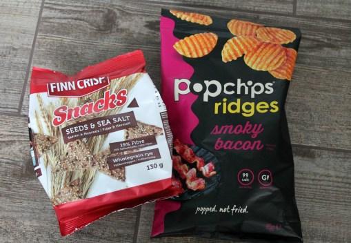 degustabox popchips and finn crisp