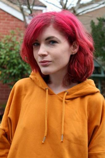 monki mustard hoodie