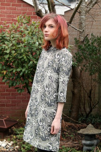 topshop paisley dress