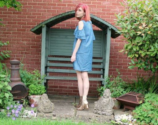 denim dress from stylewise direct