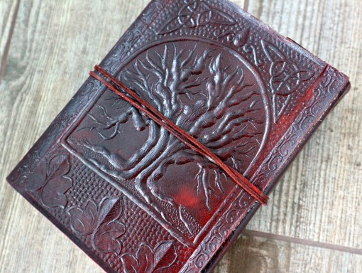 leather journal from paper highs