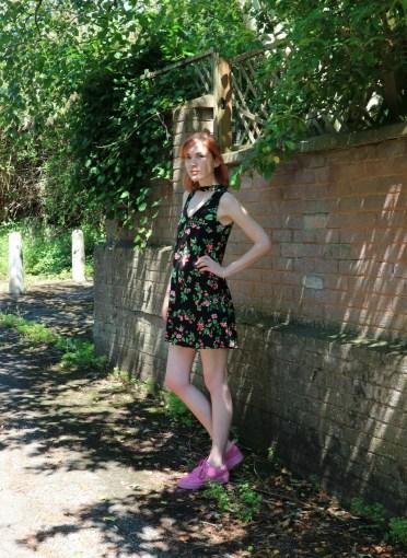pull&bear floral dress