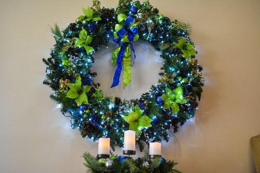 Christmas Wreath Wreath Christmas Holiday