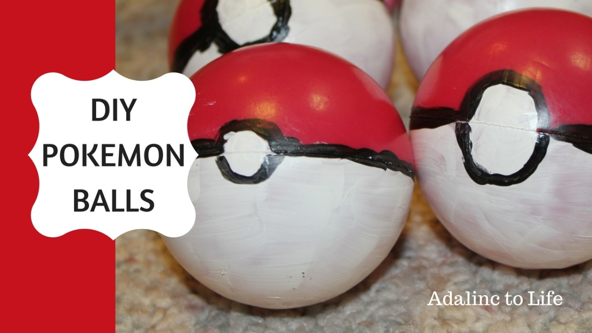 DIY Pokemon Balls to Create Your Own Pokemon Go Game