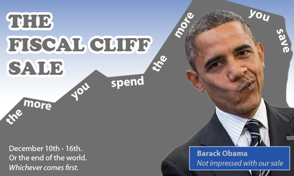 The Fiscal Cliff Sale