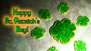 2014-03-17 St Patrick's Day cookie dance