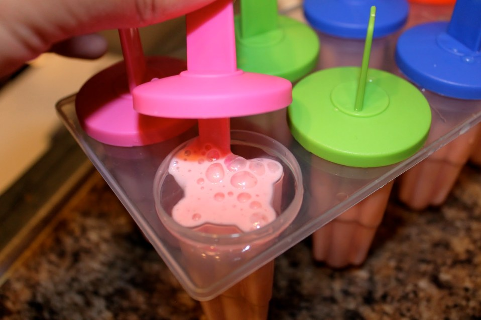 Sugar-Free Yogurt Popsicles – DIY Recipe