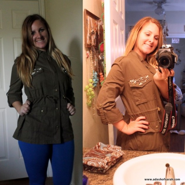 StitchFix Sweet Rain Green Jacket