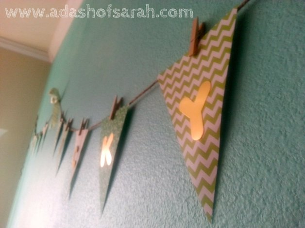 Lucky St Patricks Day Bunting Banner DIY