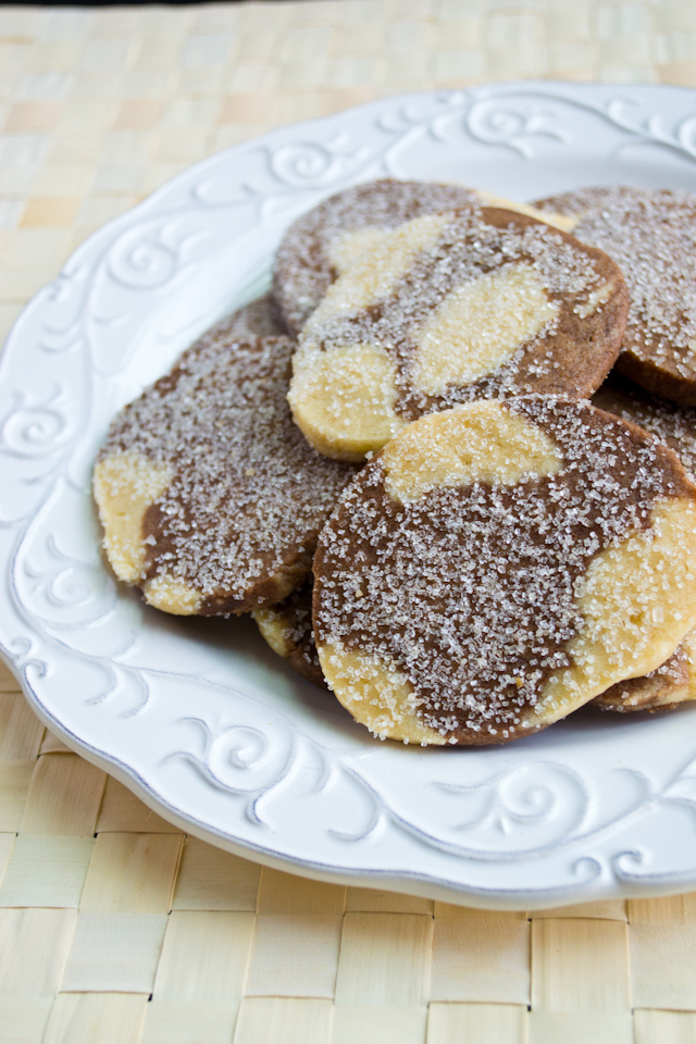 Swirly Shortbread Cookies from A Dash of Soul {The Great Food Blogger Cookie Swap 2013!}