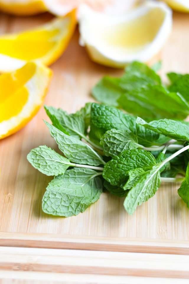 Sweet Mint Grapefruit Salad from A Dash of Soul
