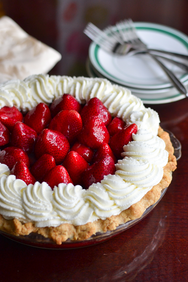 fresh strawberry pie-1