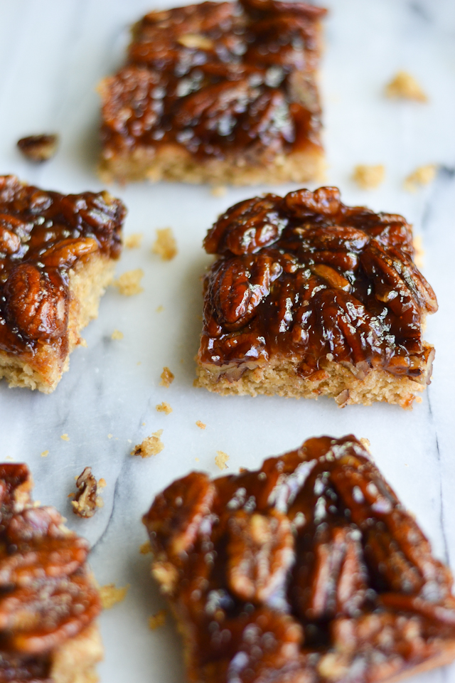 These scrumptious bars have no dairy or refined sugar and make a great treat for dessert OR breakfast!