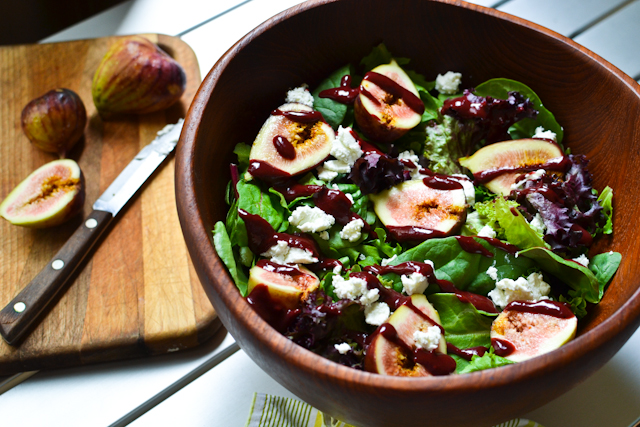 A sweet and tangy summer salad, full of flavor!