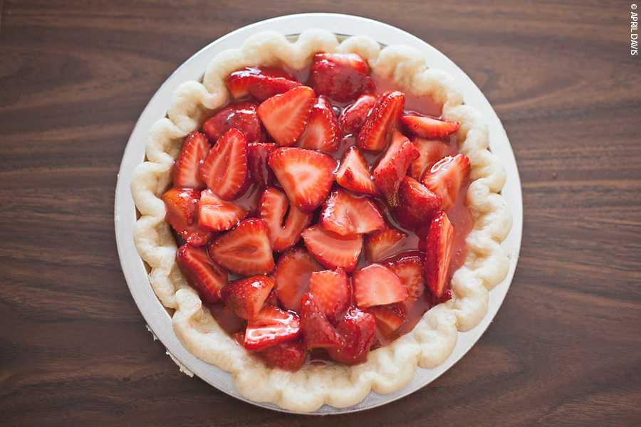 The best easy Fresh Strawberry Pie
