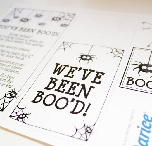 YOU'VE BEEN BOOED, HALLOWEEN PRINTABLES, BOO KITS, DIY HALLOWEEN, YOU'VE BEEN HAUNTED, WE'VE BEEN SPOOKED