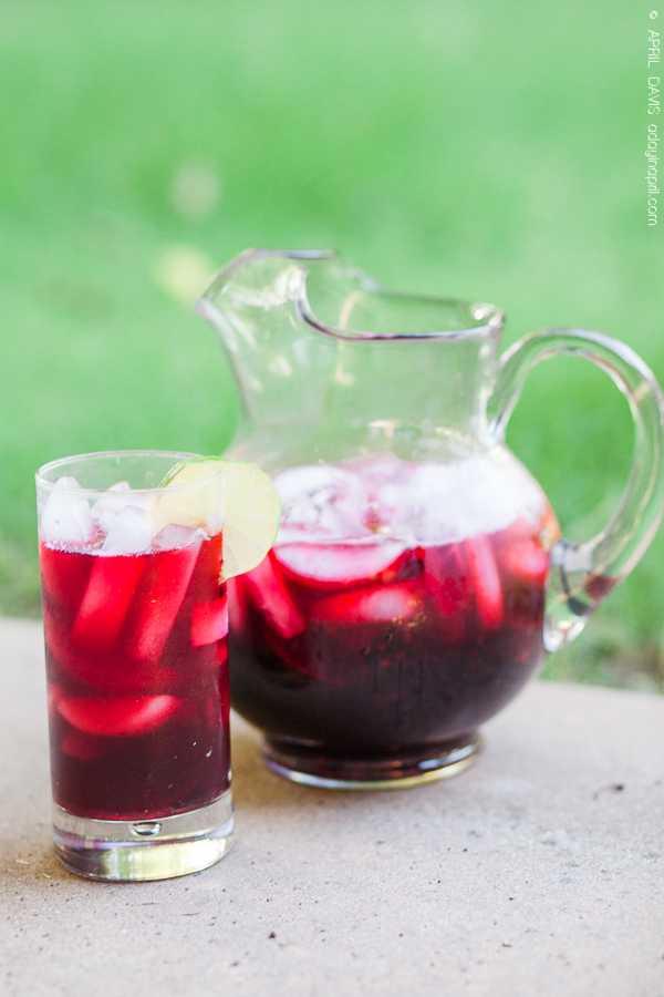 hibiscus tea homemade