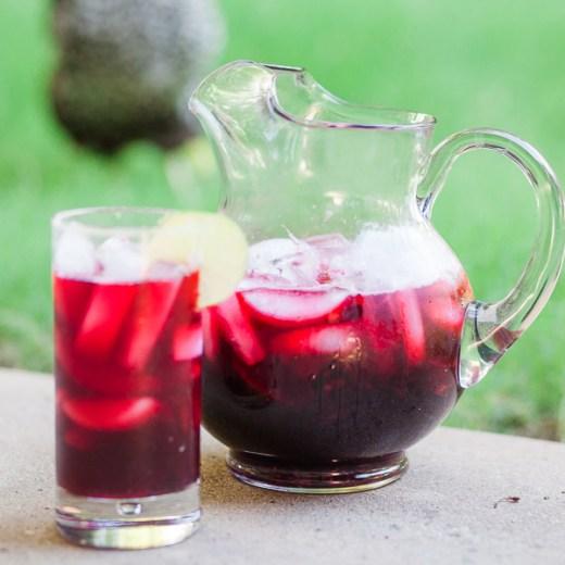hibiscus tea homemade