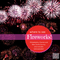 where to see fireworks in Chester County, Delaware, Philadelphia~2016