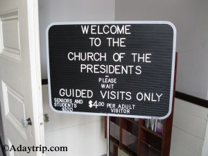 Church of the Presidents Entrance
