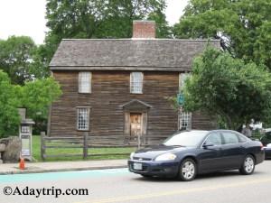John Adams House at the Adams National Historic Park