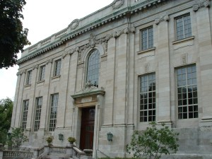 The John Hay Library is open to the public and has a varied array of manuscripts and books.