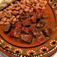 Mom's Carne Guisada