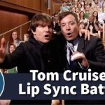 Tom Cruise Sings Abel Tesfaye's Can't Feel My Face on Jimmy Fallon (Must Watch)