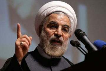 Iran's former nuclear negotiator and moderate cleric, Hasan Rouhani, won the presidential election in summer 2013