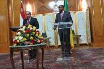 El-Sisi & PM Hailemariam