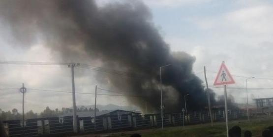 Qilinto prison fire