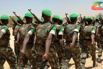 Ethiopian troops in Somalia. Photo African Union