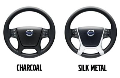 Volvo Steering Wheel Decor Panel