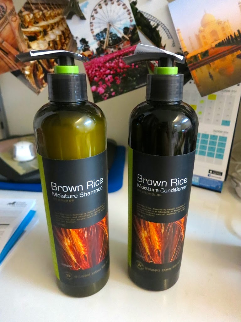 Brown Rice Moisture Shampoo and Conditioner Review