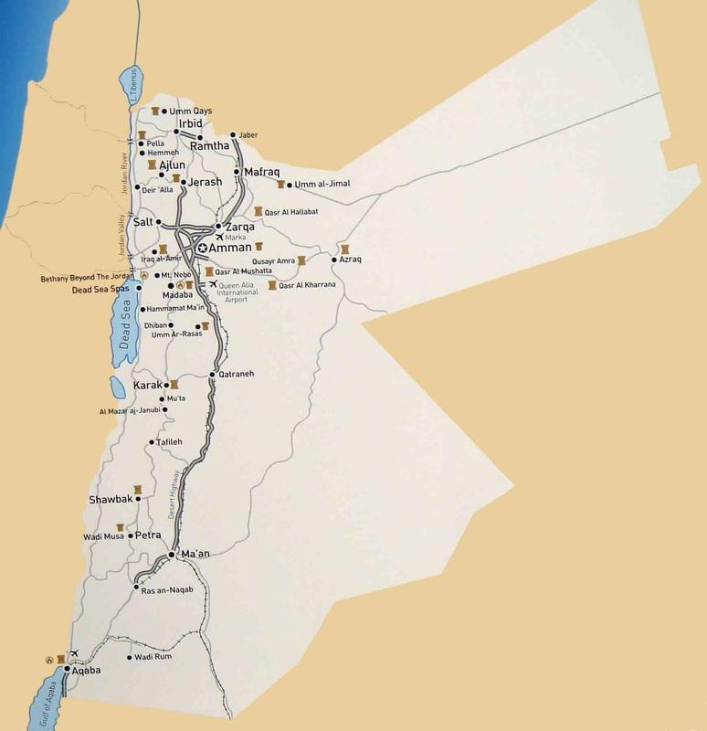 Rania Tours Travel Map Rania Tours Travel - Tours map